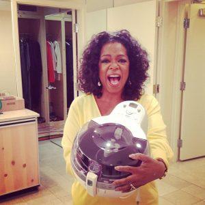 Oprah Winfrey et sa friteuse sans huile SEB