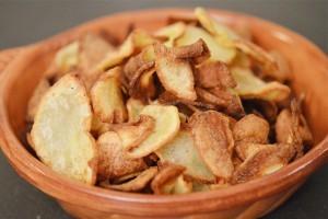 Chips épicées maison sans gluten