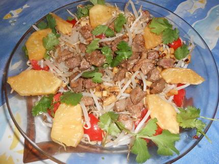 Nems de bœuf au poivre séchuan sans lactose