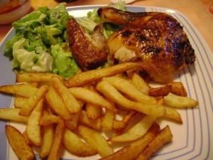 Pilons de poulet frits2