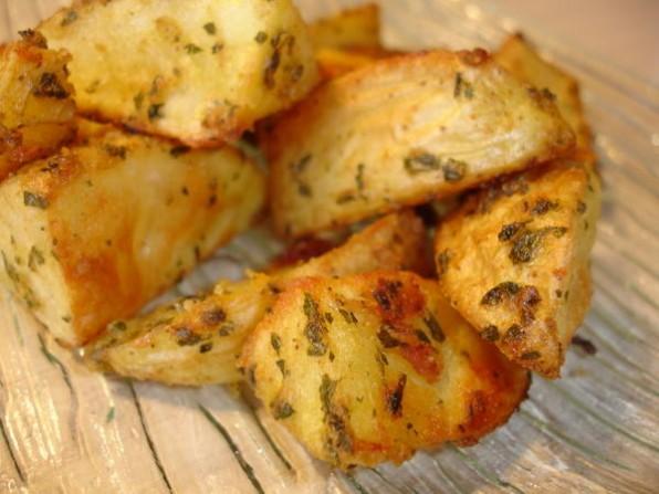 Potatoes marinées à la sauce Chimichurri