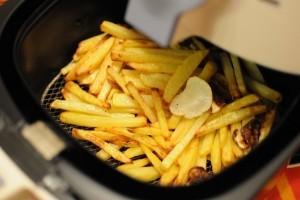 Frites préparées avec Airfryer