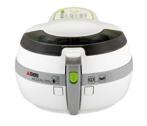 SEB AL801000 Actifry Friteuse Original avec une Cuillère d'Huile Blanc/Gris